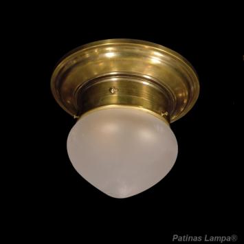 Art Deco Lampe, Deckenleuchte Bratislava 15/1 - Studio Globe ...